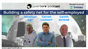 Trezeo features on Aperture Podcast: Building a Safety Net for the Self-Employed